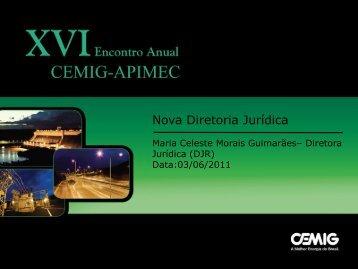 Nova Diretoria Jurídica - Cemig