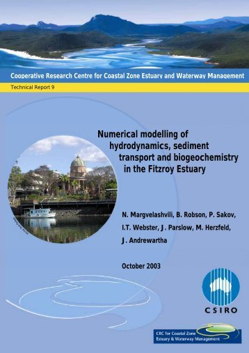 Numerical modelling of hydrodynamics, sediment transport and ...