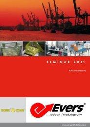 VCI Seminar Broschüre mit Anmeldeformular 2011 - Evers GmbH