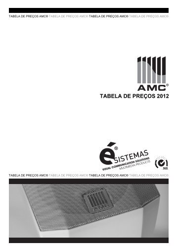TABELA DE PREÇOS 2012 - Esistemas