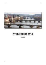 ANSA Studieguide 2010 Praha
