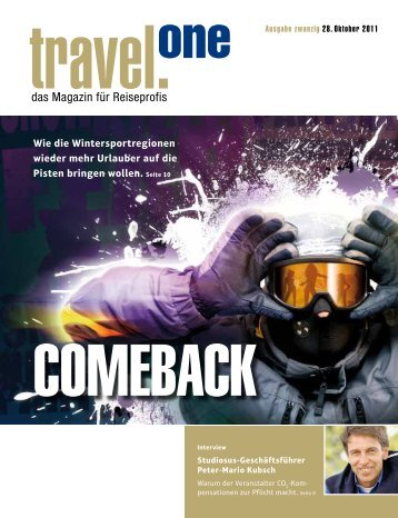 PDF-Version zum Download und zum Drucken - Travel-One
