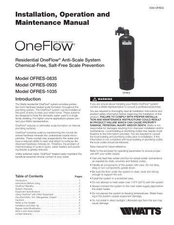 Instruction Manual for Malibu 300 Watt Transformer