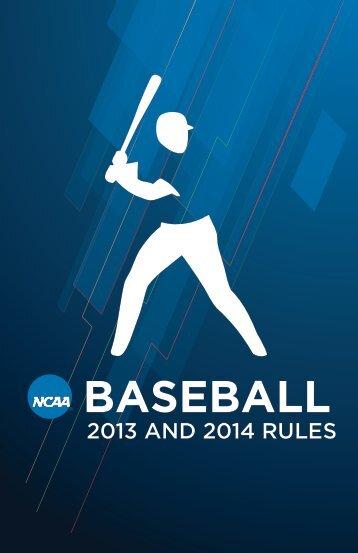 2013-14_NCAA_rules