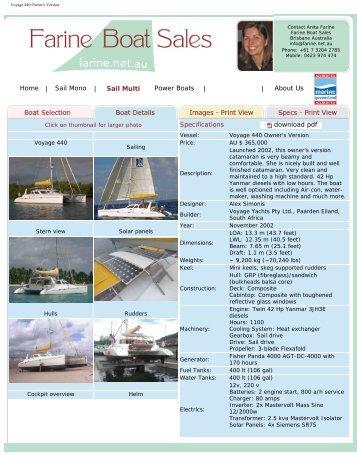 download pdf - Farine Boat Sales