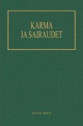 Karma ja sairaudet - Pekka Ervast