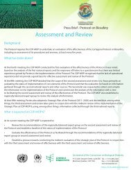 Assessment and Review - Biosafety Clearing-House - Convention ...