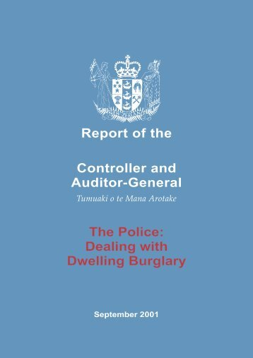 PDF (641KiB, 96 pages) - Office of the Auditor-General New Zealand