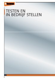 TESTEN EN IN BEDRIJF STELLEN - BTicino