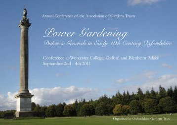 Power Gardening - The Association of Gardens Trusts