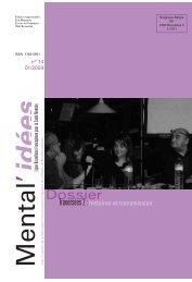 Mental'Idées n°14 - janvier 2009 - Ligue Bruxelloise Francophone ...
