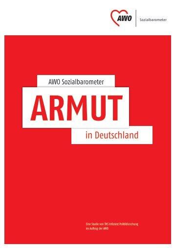 AWO Sozialbarometer - Armut und Gesundheit in Deutschland e.V.