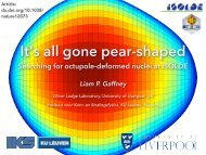 2 - Nuclear Physics - University of Liverpool