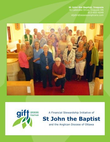 St. John the Baptist, Iroquois - Growing in Faith Together