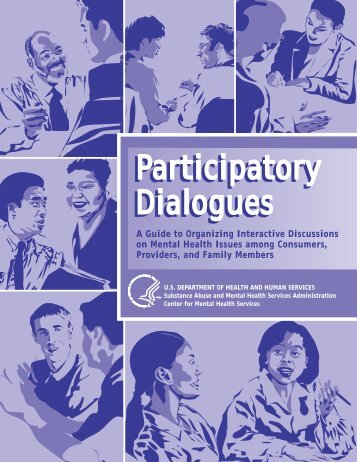 Participatory Dialogues - SAMHSA Store - Substance Abuse and ...