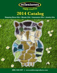 Milestones 2014 Catalog - Midwest Products