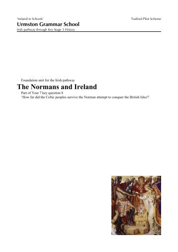 D:\04historyurmston\urmstonks3\study units ... - Ireland in Schools