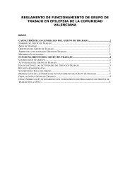 Reglamento de Funcionamiento de los Grupos de Trabajo