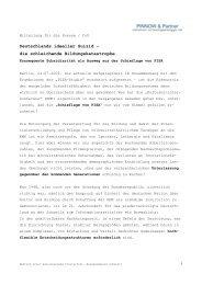 Deutschlands ideeller Suizid - Pinnow & Partner Unternehmens
