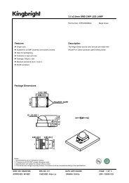 3.5 x2.8mm SMD CHIP LED LAMP Features Description Package ...