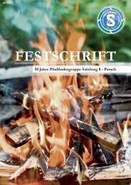FESTSCHRIFT - Pfadfindergruppe S8-Parsch