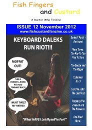 Fish Fingers and Custard - Issue 12