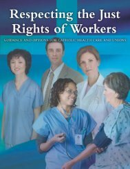 Respecting the Just Rights of Workers: Guidance and Options for ...