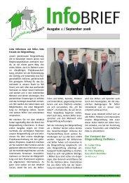 Ausgabe 1 / September 2008 - Bürgerstiftung Ostfildern