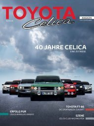 Toyota Magazin Celica
