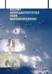 nieuwe neerslagstatistiek voor waterbeheerders - Knmi