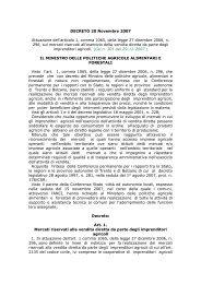 DECRETO 20 Novembre 2007 Attuazione dell'articolo 1, comma ...