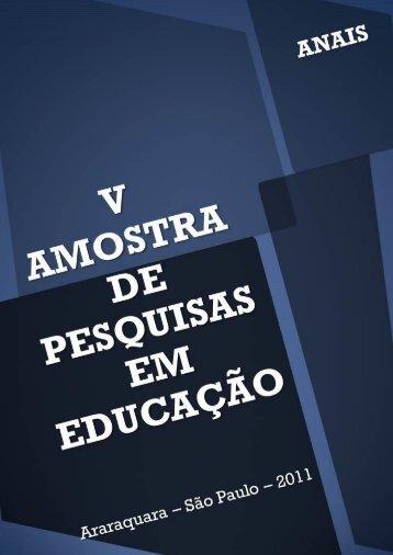 anais 2011 - Faculdade de Ciências e Letras - Unesp