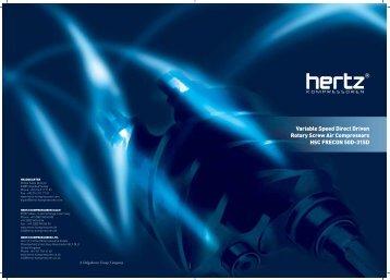 HSC 50D-315D Product brochure - Hertz-Kompressoren
