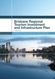 Brisbane Regional Tourism Investment and Infrastructure Plan