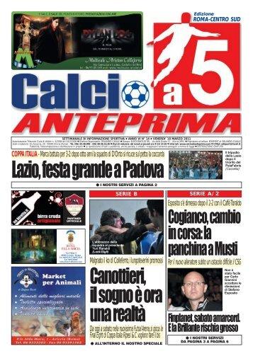 calcio a 5 anteprima 14/11 CS