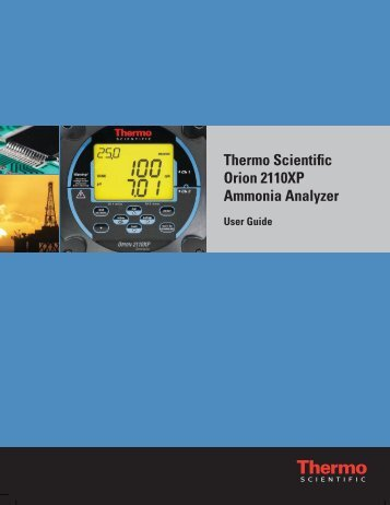 Thermo Scientific Orion 2110XP Ammonia Analyzer
