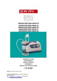 MANUALE D'USO NEW ASKIR 30 REF RE 310100 02