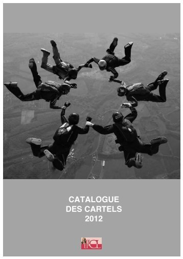 Catálogo de carteles 2010-2012 - Internationale des Forums