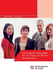 Entwicklung der Chancengleich- heit von Frauen und ... - IG Metall