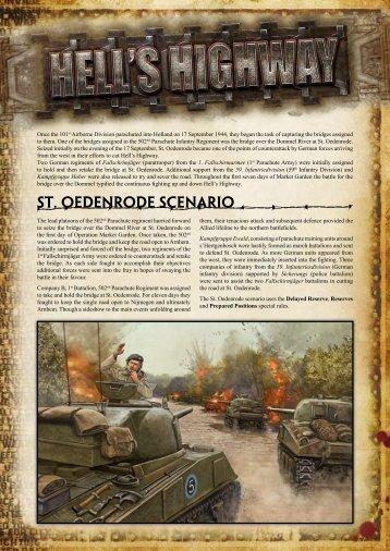 Download St. Oedenrode Scenario (PDF)... - Flames of War