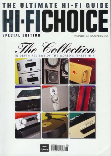 Hi-Fi Choice review - Cool Gales Audio