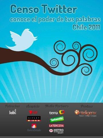 Censo Twitter 2011 - Intelligenx