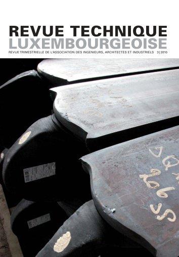 pdf RT 03 | 2010 - Revue Technique Luxembourgeoise