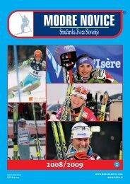 leto 2008/2009, Å¡tevilka 2 - Modra kartica