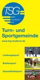 Turn- und Sportgemeinde - TSG Leutkirch