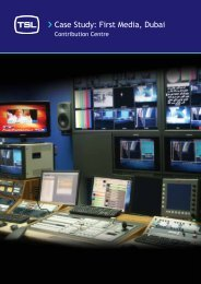 Case Study: First Media, Dubai - TSL