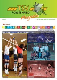 TSV-Magazin_1-2010_TSV-Aktuell 4-2007 - TSV Forstenried