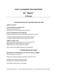 """Juan: La pregunta más importante #4: """"Sígame"""" - PazConDios"""