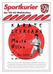 Sportkurier 1 11 - TSV 03 Wolfskehlen