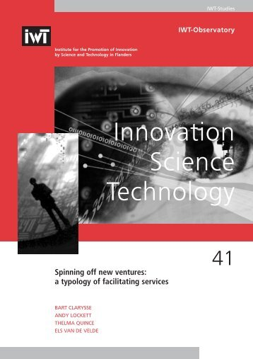 a typology of facilitating services - Biblio at UGent